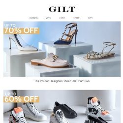 [Gilt] Up to 70% Off Designer Shoes | Up to 60% Off Giuseppe Zanotti & More