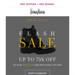 [Neiman Marcus] 75% off: Shop the new markdowns