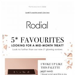 [RODIAL] Your Favourites From New In