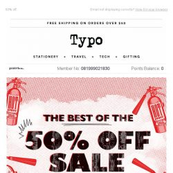 [typo] The best of SALE! 