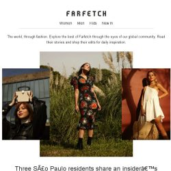 [Farfetch] The top stories on Farfetch this week