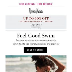 [Neiman Marcus] Swimwear you'll feel good about