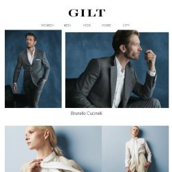 [Gilt] Brunello Cucinelli | Treat Yourself to Special Prices for 24 Hours Only