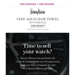 [Neiman Marcus] Time for a change?