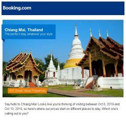 [Booking.com] Prices in Chiang Mai dropped again – act now and save more!