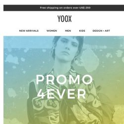 [Yoox] We've outdone ourselves: 40% to 70% OFF