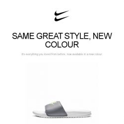 [Nike] Nike Benassi in an all-new colour