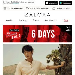 [Zalora] On Wednesdays, we shop EXTRA 35% Off!