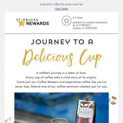 [Starbucks] You're invited: Join us in our journey through Rwanda