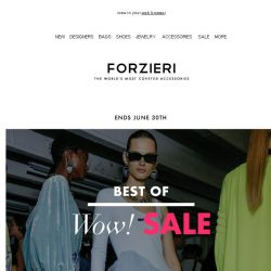 [Forzieri] Best of SALE | Balmain, Red Valentino, Dsquared2