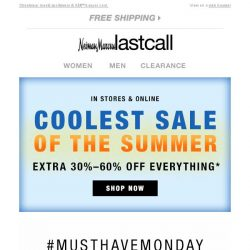 [Last Call] #MustHaveMonday: UTILITY STREET + extra 30%–60% off