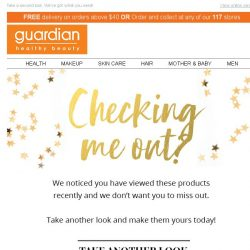 [Guardian] Checking me out?