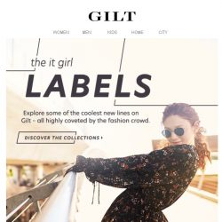 [Gilt] GRLFRND to Lovers + Friends just dropped.