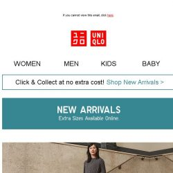 [UNIQLO Singapore] Fresh in this week!
