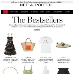 [NET-A-PORTER] This season's most wanted items