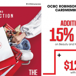 Robinsons: Final Reduction Sale with Up to 70% OFF & OCBC Cardmembers Enjoy Additional 15% OFF Beauty & Featured Items!