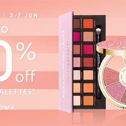 Sephora Singapore: Get Up to 50% OFF Selected Palettes Online & In Stores!