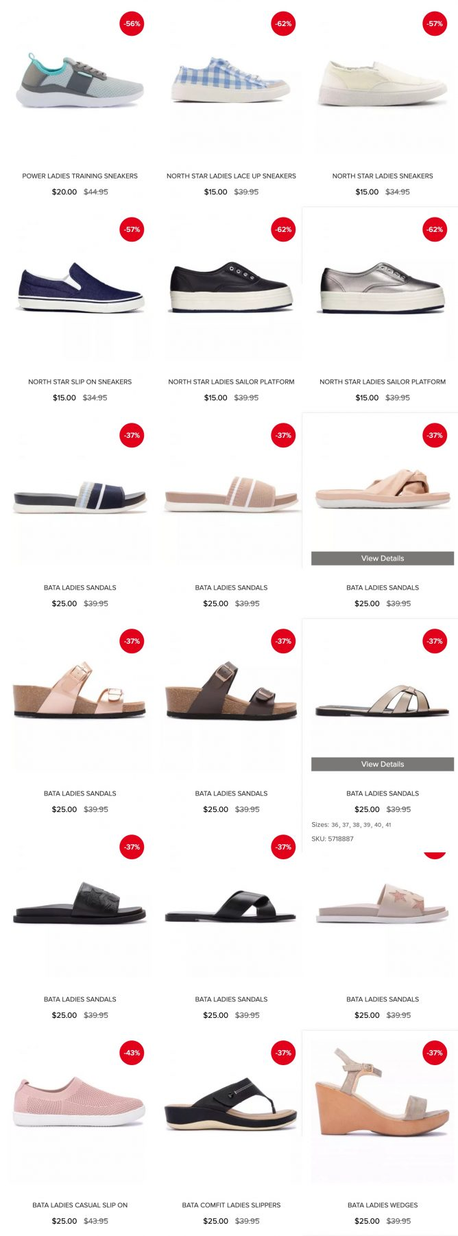 Bata: Great Singapore Sale with Up to