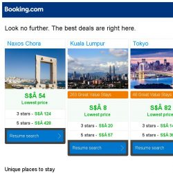 [Booking.com] Naxos Chora, Kuala Lumpur, or Tokyo? Get great deals, wherever you want to go