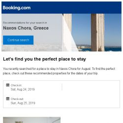 [Booking.com] Deals in Naxos Chora from S$ 73