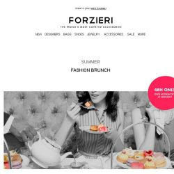 [Forzieri] Weekend-Only | Fashion Brunch Exclusive