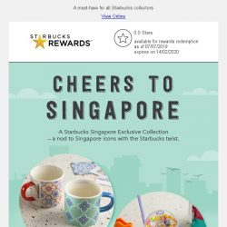 [Starbucks] An exclusive collection to celebrate our vibrant city