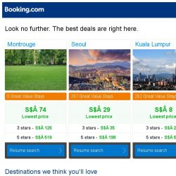 [Booking.com] Montrouge, Seoul, or Kuala Lumpur? Get great deals, wherever you want to go