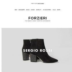 [Forzieri] What's new: Sergio Rossi, MM6, Dsquared2