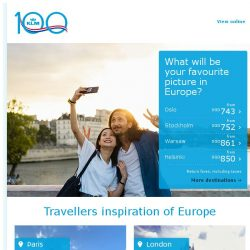 [KLM] Get into holiday mode with travellers inspiration