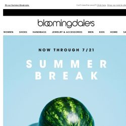 [Bloomingdales] Save up to 70% on tees, sandals and more
