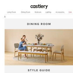 [Castlery] Master These 3 Modern Interior Looks.