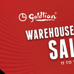 GOLDLION: Warehouse Sale 2019 with Up to 90% OFF Menswear & Leather Accessories!