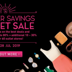 IMM Outlet Mall: Greater Savings Outlet Sale 2019 with Up to 70% OFF + Additional Up to 30% OFF at Coach, Adidas, Kate Spade, Furla & More!