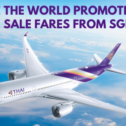 Thai Airways: See the World Promotion with Sale Fares to Bangkok, Shanghai, Dubai, Auckland, Milan & More from Only SGD258!