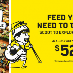 Scoot: GTG Sale with All-In Fares from SGD52 to Bangkok, Phuket, Bali, Vientiane & More!