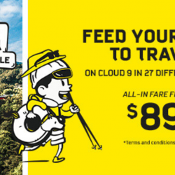 Scoot: GTG Sale with All-In Fares to China, Japan, Korea & More from $89!