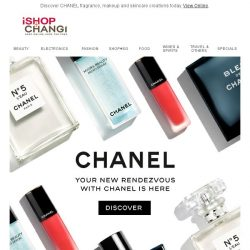 [iShopChangi] CHANEL is now available on IShopchangi