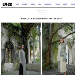 [LN-CC] In Focus Jil Sander: Beauty in the East