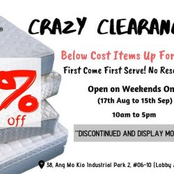Hennsley: Crazy Clearance Sale with Up to 85% OFF Mattresses & Bedframes!