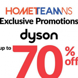 Courts: HomeTeamNS Exclusive Promotion - Up to 70% OFF on All Dyson Products!