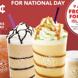 The Coffee Bean & Tea Leaf: Enjoy All Small-Sized Drinks at $0.54 for 54 Minutes!