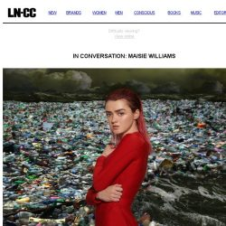 [LN-CC] In Conversation: Maisie Williams