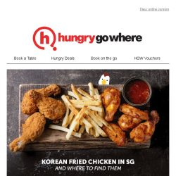 [HungryGoWhere] Food Guide: The best Korean fried chicken in Singapore