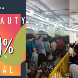 Luxasia: Beauty Festival with Up to 80% OFF Haircare, Skincare, Makeup & Fragrances!