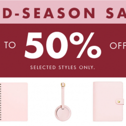 kikki.K: Mid-Season Sale with Up to 50% OFF Your Stationery Favourites!