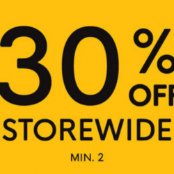 G2000: Payday Special Sale with 30% OFF Storewide (Min. 2 Pcs)!