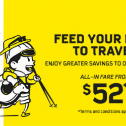 Scoot: GTG Sale with All-In Fares from SGD52 to Over 25 Cities + No More Payment Processing Fees!