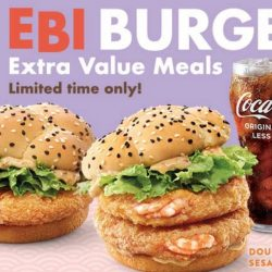 McDonald's: Get 50% OFF Ebi Burger Extra Value Meals with Delivery!
