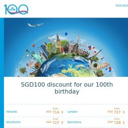 [KLM] A treat for you to celebrate our birthday