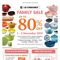 [Le Creuset] FAMILY SALE UP TO 80% OFF ❗